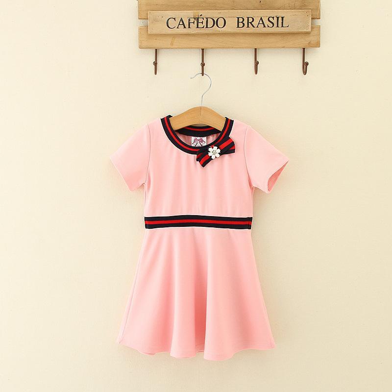 9b5b8a2df1a8 2019 Small SSA Girl Dress 2018 Summer Female Treasure In Children ...
