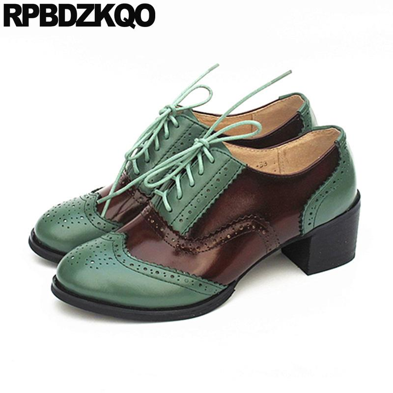 7660547c412b96 Oxford Lace Up 10 42 2019 Luxury Shoes Women Designers Size 33 ...
