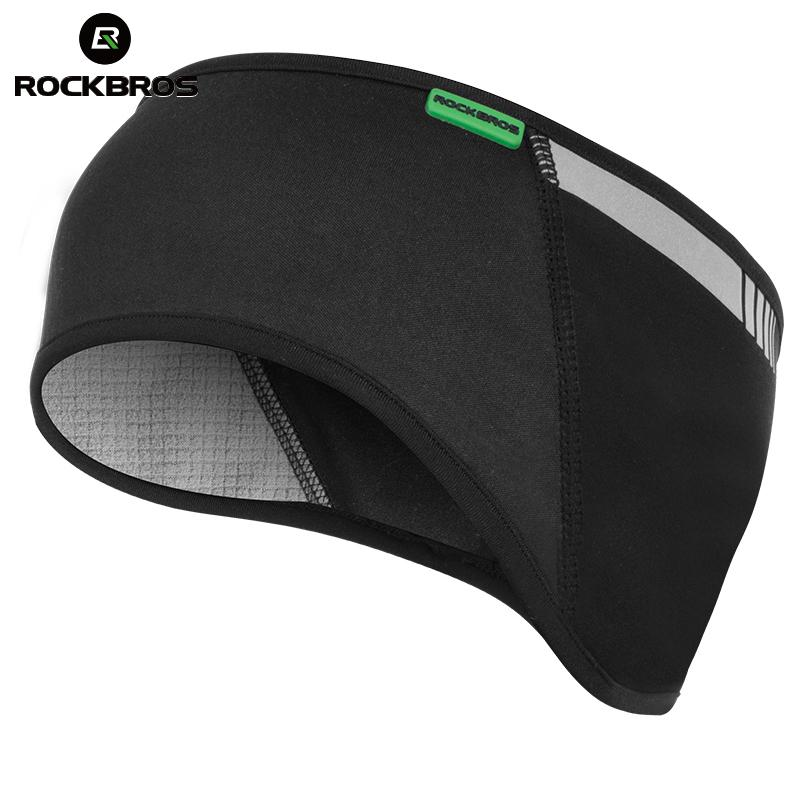 c88f751fea1 2019 ROCKBROS Cycling Headband Outdoor Sports Windproof Thermal ...