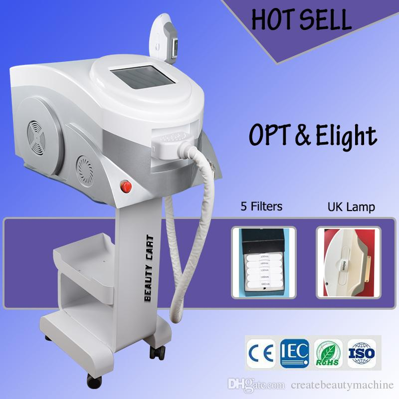 2019 best portable OPT SHR hair removal machine ipl skin rejuvenation machine Elight IPL laser hot in market
