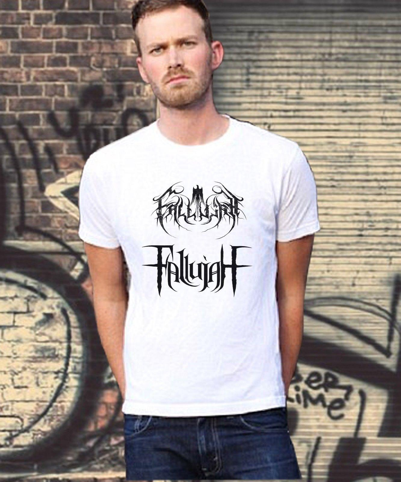 2f6d6134be1e66 Fallujah American Death Metal Band New Logo T-Shirt White Or BLack Size  M-2XL Online with $13.54/Piece on Tshirtsdesign49's Store | DHgate.com