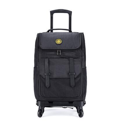 Waterproof Luggage Bag Rolling Suitcase Trolley Luggage Women Travel ... 3627a685eb7b9
