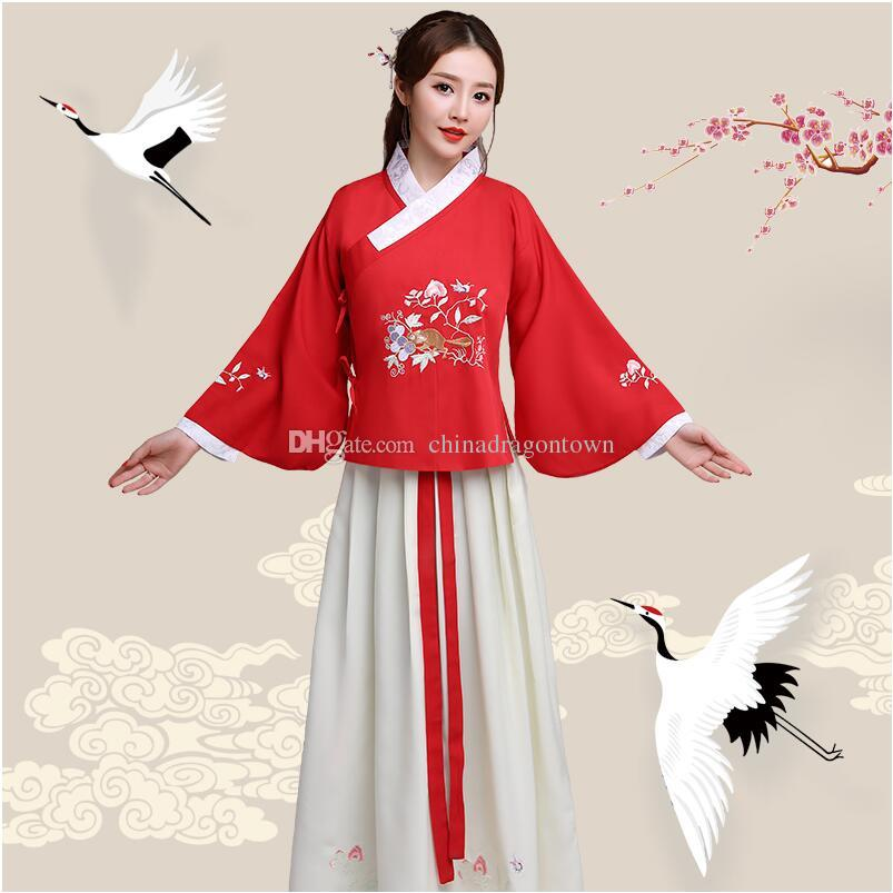 e626b58470ee 2019 New Ancient Ethnic Clothing Hanfu Lady Fairy Princess Dress Film TV  Performance Costume For Women Stage Wear Fancy Costume For Singers From ...