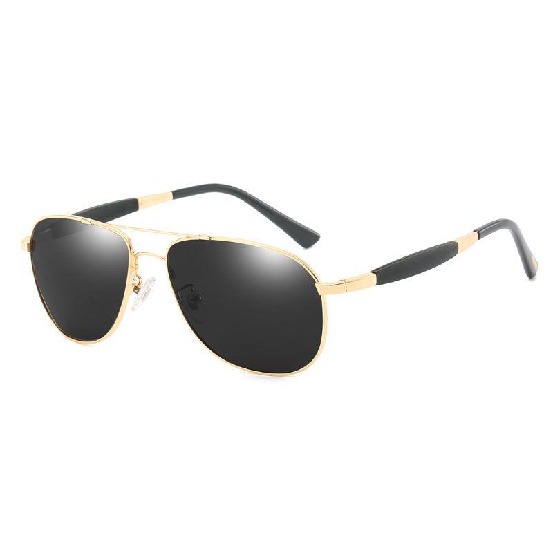 84c38b823e3f Top Men's Sunglasses Brand Designer Pilots Polarized Men's Sunglasses  Glasses High-end Men's Polarized Color Film Sunglasses Driver Glasses