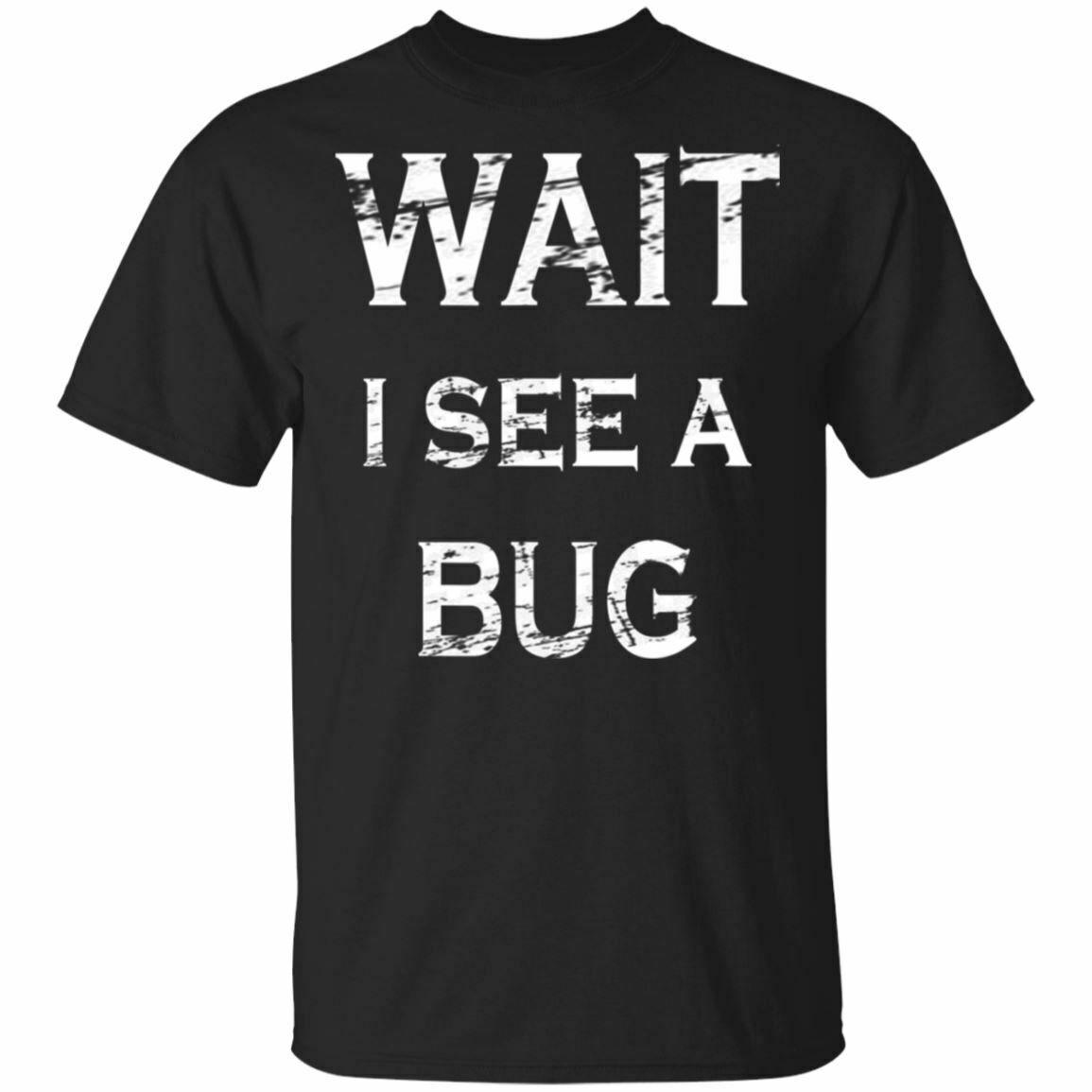 Regalo divertente per Entomologo Bug Collezionisti Whisperer Black Navy T-shirt S-3XL girocollo Tee Shirt