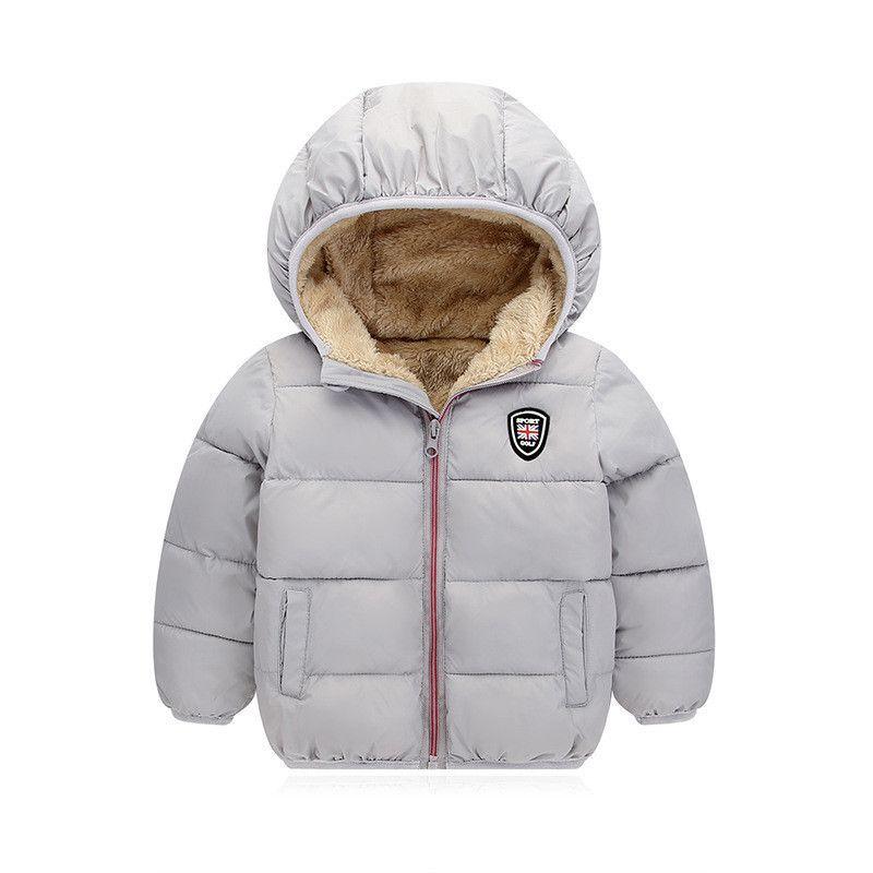 babe255f644a Quality Children Winter Jackets Boys Girls Fleece Warm Hooded ...