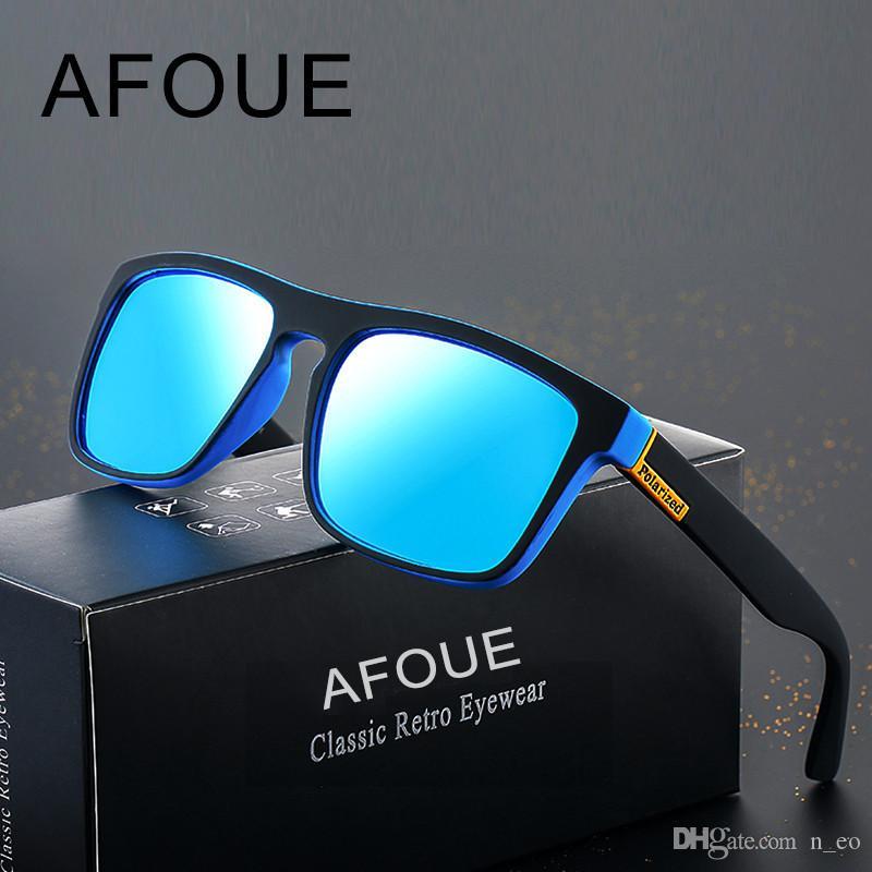 2fc252d0066 Fashion Men Women Sunglasses UV400 Polarized Sunglasses Square Frame Flash  Mirror Lens Eyewear Brand Designer Gafas High Quality Sun Glasses Native ...
