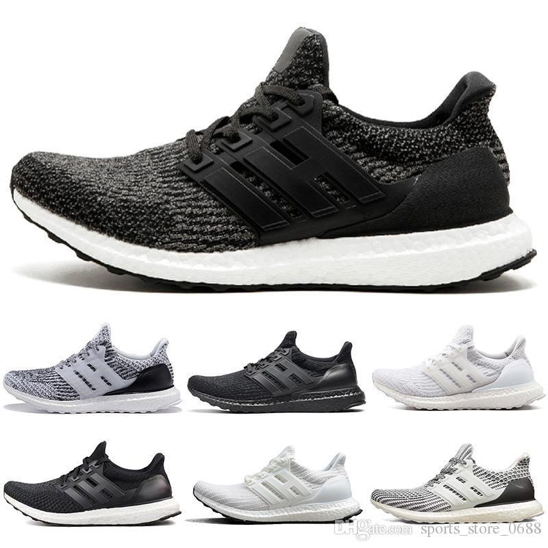 4ade0074a18da 2018 New Ultra Boost 3.0 4.0 Triple Black Sport Shoes Women 3 ...
