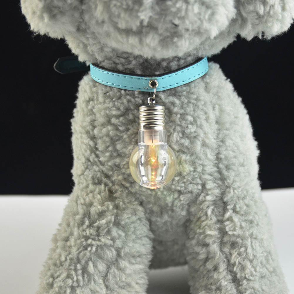 1pc Led Colorful Dog Safety Night Light Pendant Necklace Pet Cat Puppy Flashing Luminous Collar Dog Accessories Grooming