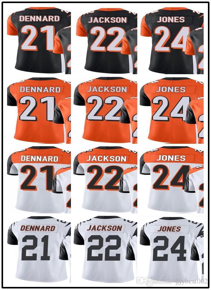 8d86674cc5fd Custom Cincinnati Bengals Jerseys 21 Darqueze Dennard 24 Adam Jones 22  William Jackson  YOUTH Men s Limited Rugby Jerseys Online with  25.15 Piece  on ...