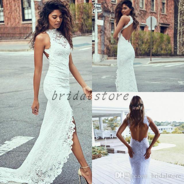 Vestidos de novia sirena cortos
