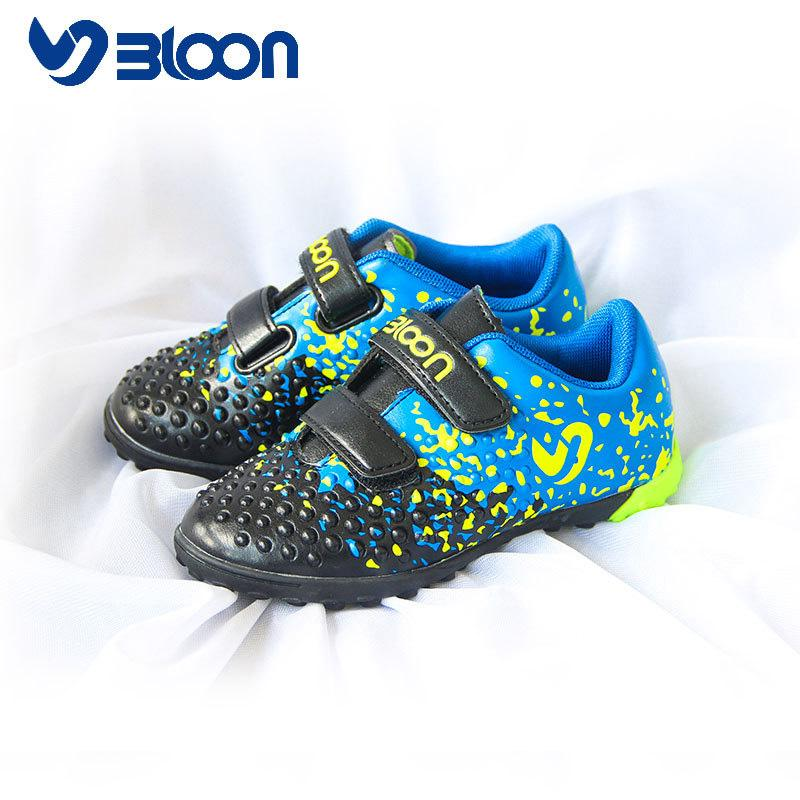 379541a1c BLOON New Designed Little Kids Soccer Shoes Girls Boys Children Football  Shoes Indoor Boots Football Size 26 31 Pink Running Shoes Childrens Shoes  From ...