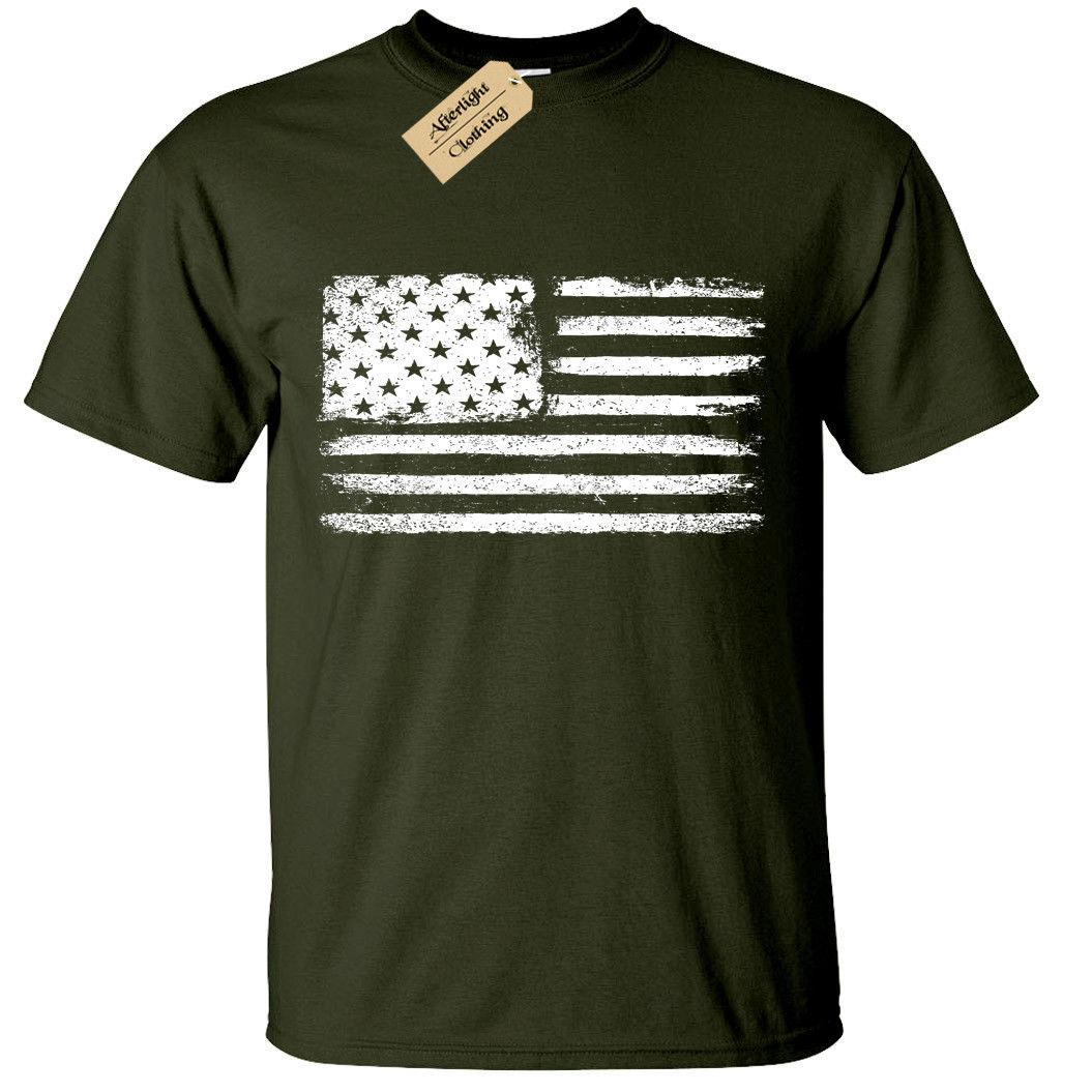 fa2929f8f44c Grunge USA Flag T Shirt S 5XL Mens American Retro Distressed United States  Hip Hop Style Tops Tee Shirt Casual Man Short Sleeve Leisure Best T Shirt  Shop ...