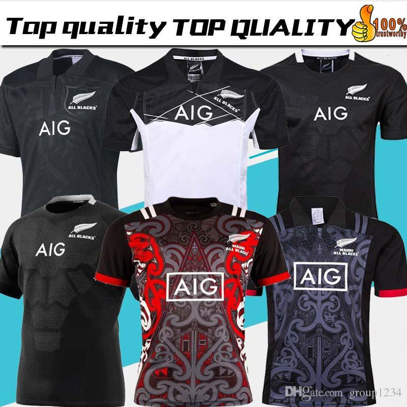 841b8a983a0 2019 2019 20 New Zealand All Blacks Rugby Jersey Shirt 17 18 19 Season, All  Blacks Mens Rugby Football Jersey 2018 Size S XXXL From Group1234, ...