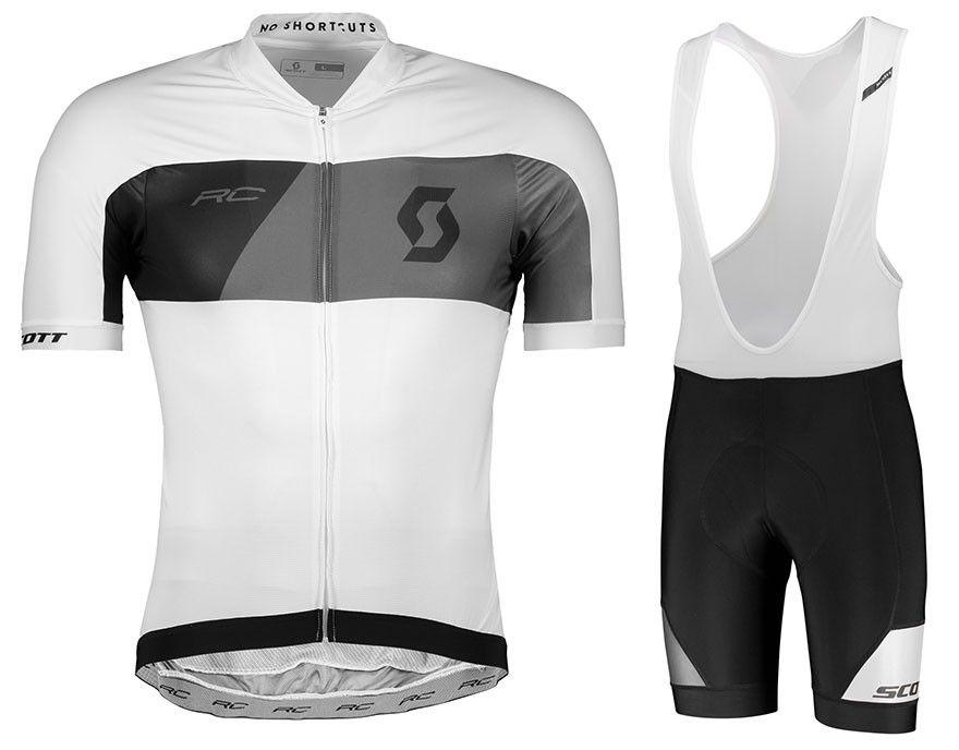 95814e9ca 2018 Scott Factory Bulk Order Price Custom Cycling Jersey Short Sleeve  Jersey 9D Gel Pad Bib Shorts Bike Racing Team Biker Cycling Set S001 Short  Sleeve ...