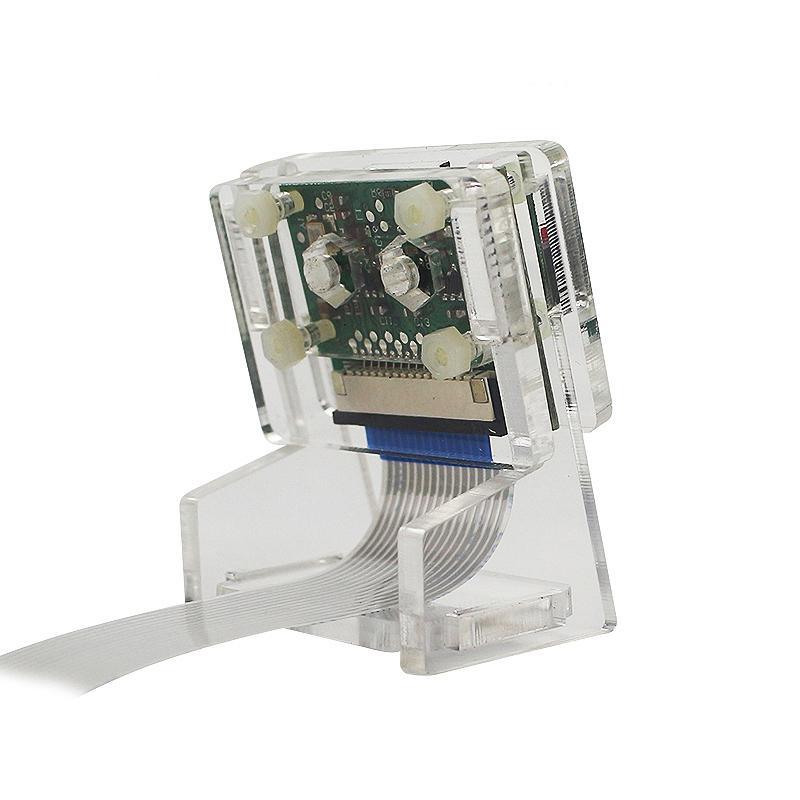 Ov5647 Mini Camera Acrylic Holder Case Camera Transparent Webcam Bracket  Kits With Ffc For Raspberry Pi 3