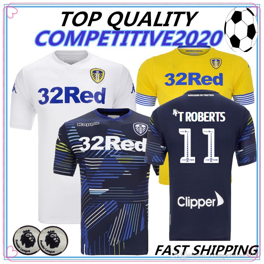 06505cb7b 2019 2018 2019 Thailand Quality Leeds United Soccer Jerseys 18 19 Leeds  Home Away ALIOSKI JANSSON BAMFORD COOPER SAIZ ROOFE Football Shirt From ...