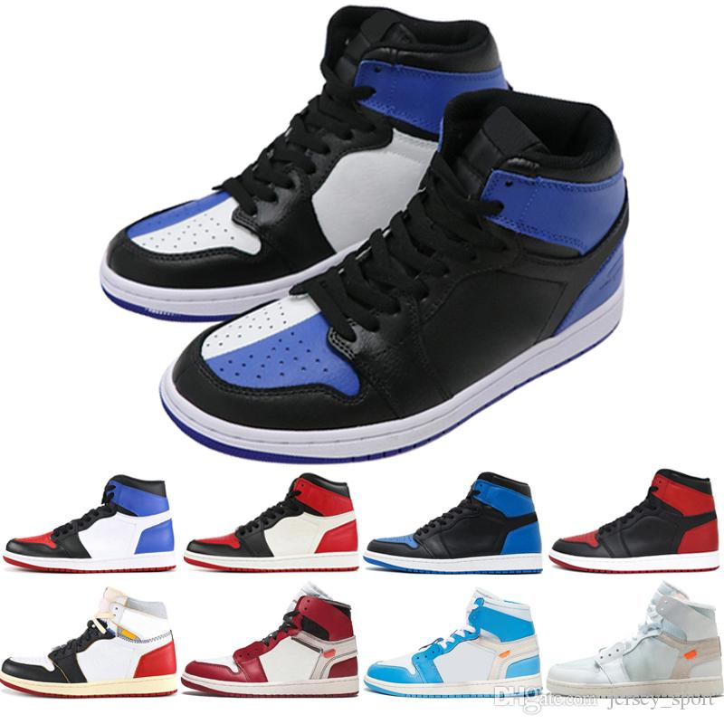 1a5eef2294ba 2019 New OG 1 Gold Top 3 Men Basketball Shoes Chicago Bred Banned Black Toe  Royal Blue Homage To Home 1s Mens Sports Sneakers Designer Trainers From ...