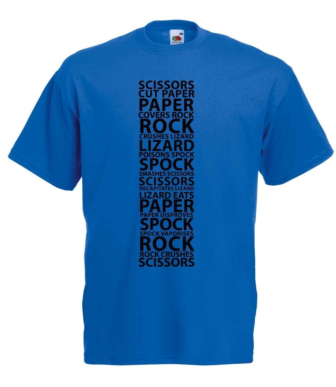 e50548439 THE BIG BANG THEORY ROCK, PAPER, SCISSORS, LIZARD, SPOCK HIGH QUALITY T  SHIRT Funny Unisex Casual Tshirt Top Shirt T Shirt Funny T Shirts Cheap  From ...