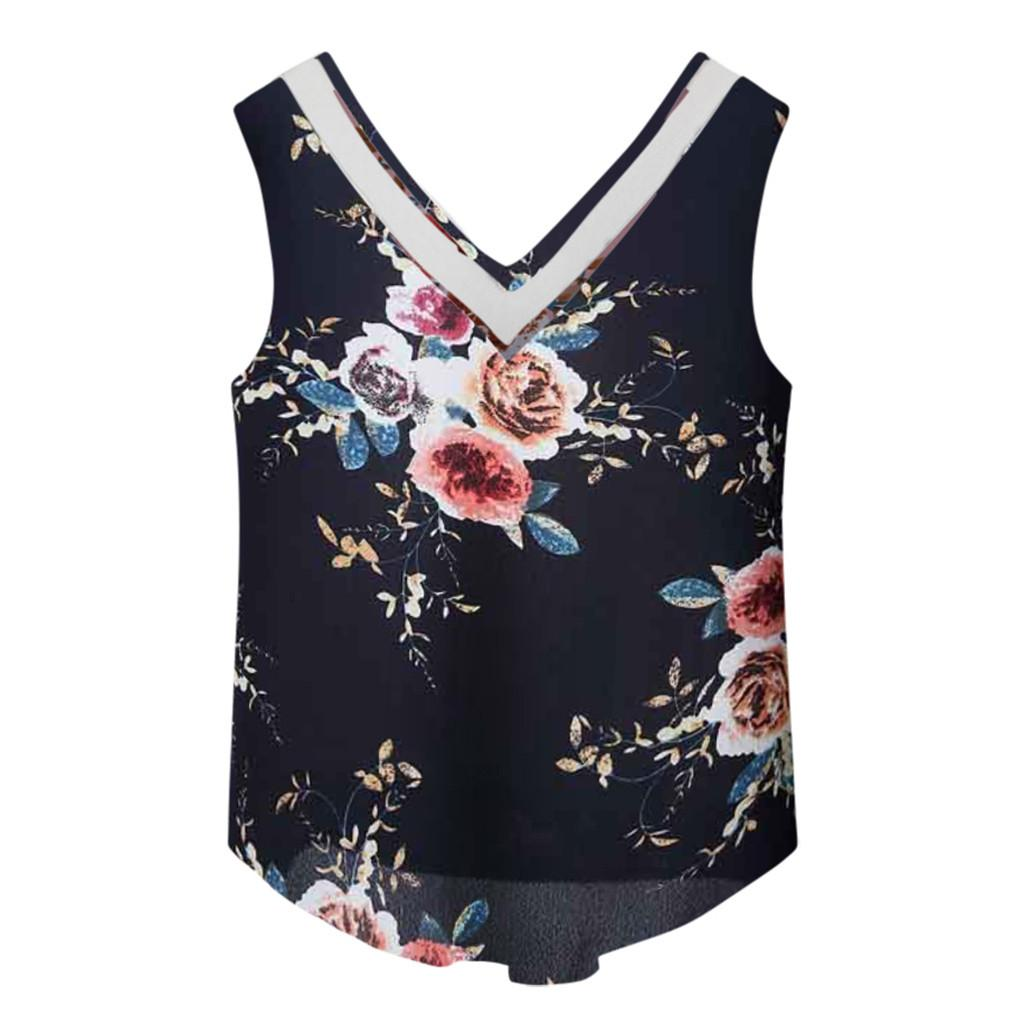 V-Neck Chiffon Gym Yoga Shirt Design 2019 Women Fashion Chiffon Crop Top Ladies Sexy Sport Yoga Tank Tops Shirts M21