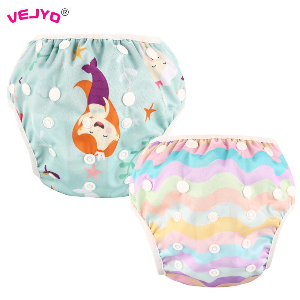 49fbd3bf56 2019 Baby Girls Swimwear Washable Reusable Summer Swimming Pool Toddler Infant  Swim Diaper Pants Snap One Size Fit 7 33lbs From Phononame, $46.38   DHgate.