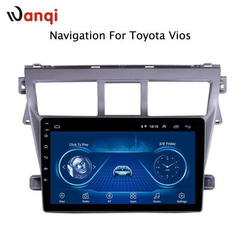 Android 8.1 Car DVD Multimedia Player GPS For Toyota Vios YARIS 2008-2013 audio radio stereo navigation