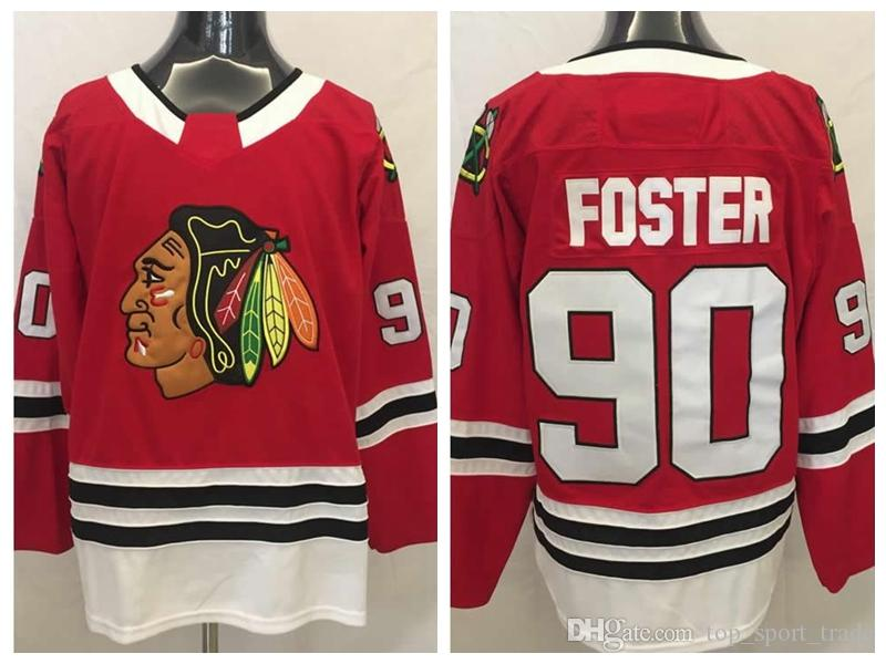 2019 Chicago Blackhawks  90 Scott Foster Jerseys Mens Emergency Goalies 90  Scott Foster Hockey Jersey Home Red Stitched Best Quality From  Top sport trade 4699d915c96