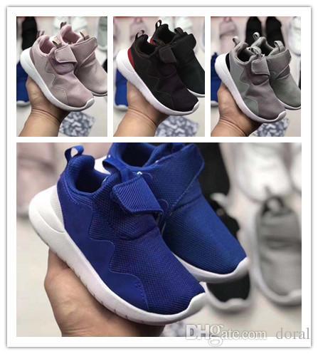 brand new 083ab 8a368 Acheter Nike Roshe Run Rosherun 4 Vente Chaude Marque Enfants Casual Sport  Chaussures Garçons Et Filles Sneakers Enfants 4 Génération Chaussures De  Course ...