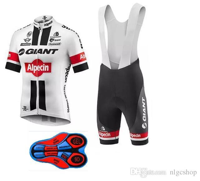 GIGANTE Nuevo Estilo 2018 Camisetas De Ciclismo Ropa De Bicicleta Corta  Conjunto Hombres Jersey Bib Shorts Mtb Bicicleta Ropa Deporte Jersey Ropa  De ... a521c90075f76