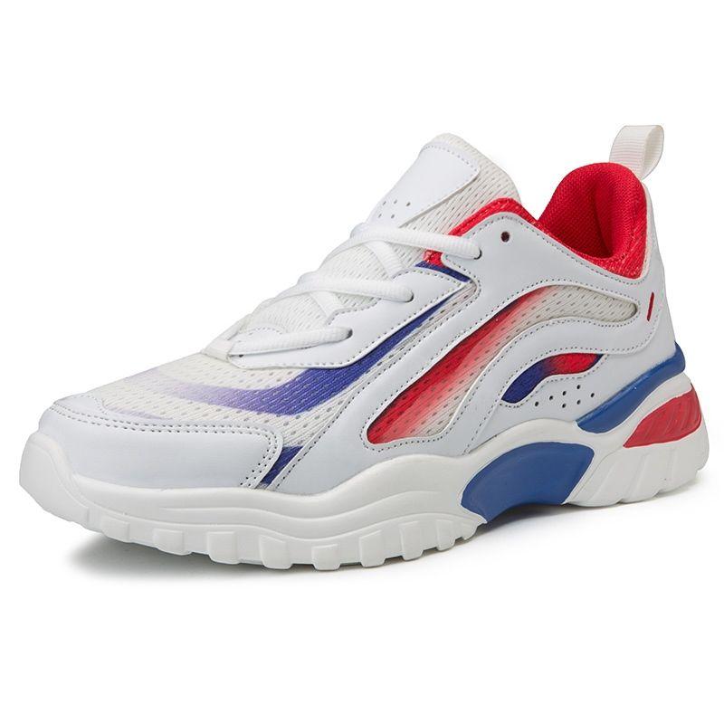 bd65a3f0e5 Compre Zapatos Ocasionales De Los Hombres Chunky Sneaker Para Hombre  Plataforma Alta Papá Zapatos Hombres Zapatillas De Deporte De Malla Calzado  Marca ...