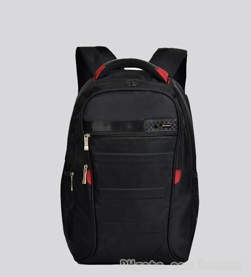 063dc7d9d Fashion Shoulder Backpack Men's Nylon Middle School Student Bag ...