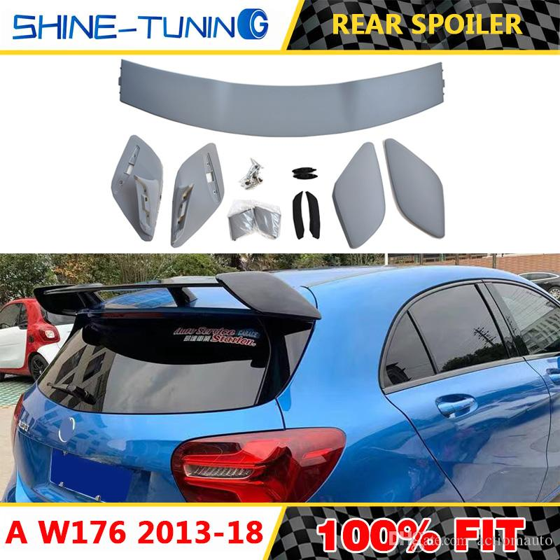 Primer Sports Car Rear Trunk Spoiler Wing for Mercedes W176 A-Class A250 A45 AMG A180 A200 A45 2013-2018 Without Paint