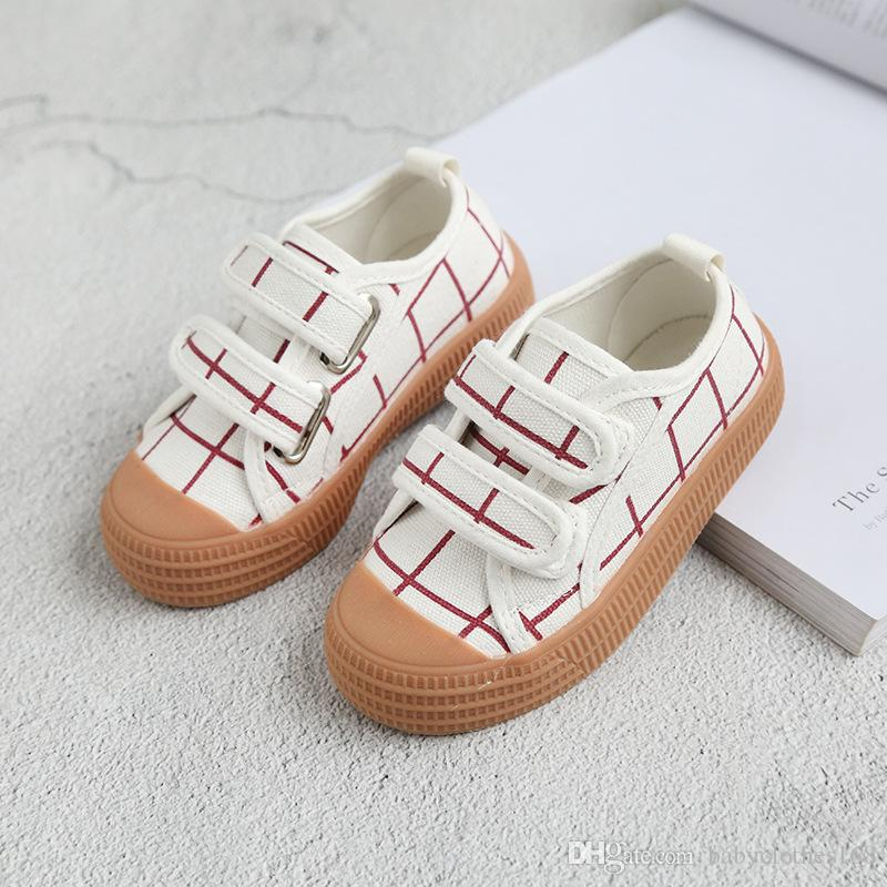 1f46d41222 Kids Designer Shoes Boy Girls Spring Autumn Canvas Shoes Kids Trainer  Fashion Sneaker Size 6.5 11 Kids Black Sneakers Buy Kid Shoes Online From  ...