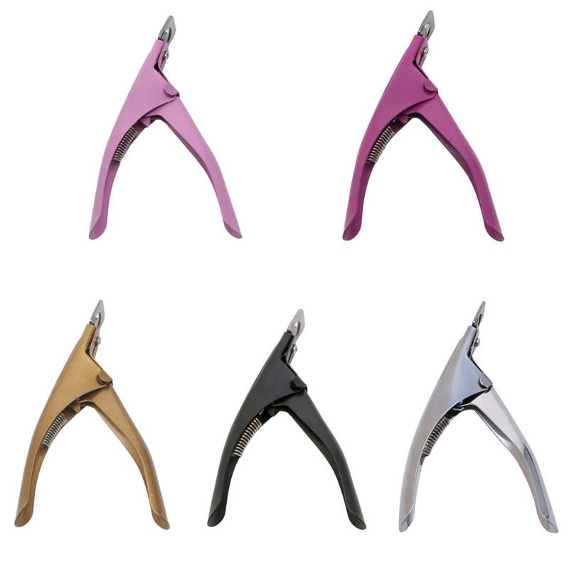 9e79b93e89 New Acrylic UV Gel Nail Clippers Cutter False Nail Tips Cutting Nails Tool  Manicure Beauty tools Hot Sale