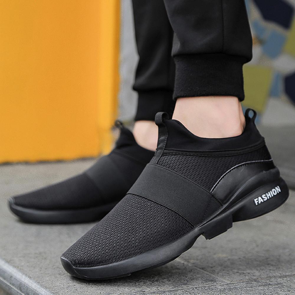 906e4e54adc Compre YOUYEDIAN Hombres Zapatos Casuales 2019 Moda Beathable Mesh Hombres  Zapatos Casual Zapatillas Zapatillas Hombre Tamaño 39 44 A  23.89 Del  Hadfunn ...