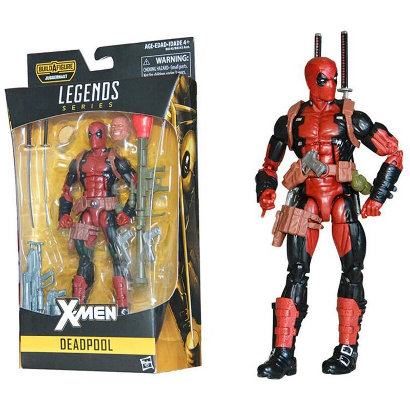 "New Marvel X Men Super Hero Deadpool 2 Spiderman Legends Series Action Figure With Retail Box 6"" 15cm Q190429"
