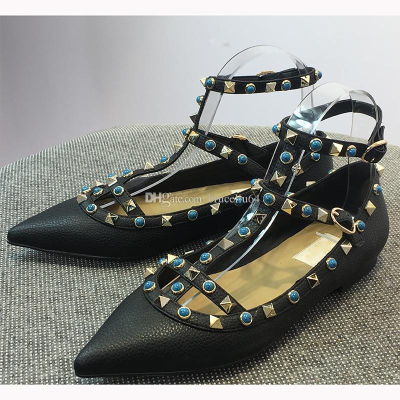 Original Boxwomen High Heels Dress Shoes Party Fashion Rivets Girls
