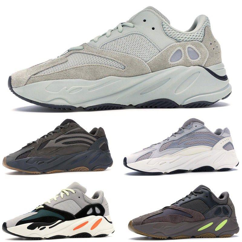 700 Runner Kanye West Mauve Wave Runner Statische Trägheit Laufschuhe Herren Damen Athletic 700 v2 Sportschuhe Trainer Turnschuhe Schuhe Eur 36 46