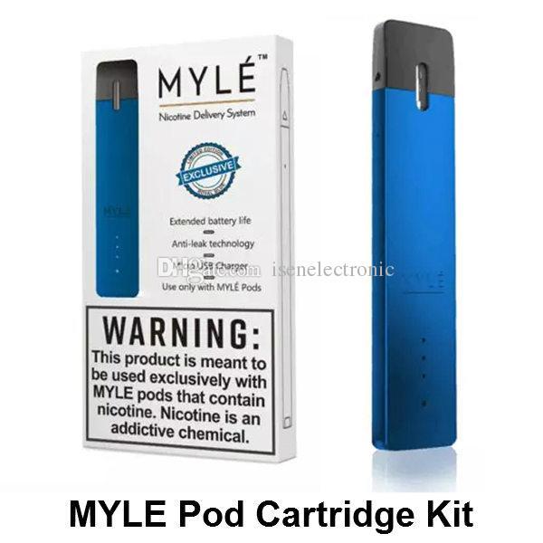 Newest VGOD Myle Pod Starter Kit 240mAh Portable Vape pen Kit for Myle  Vapor pod Cartridge kit DHL FREE