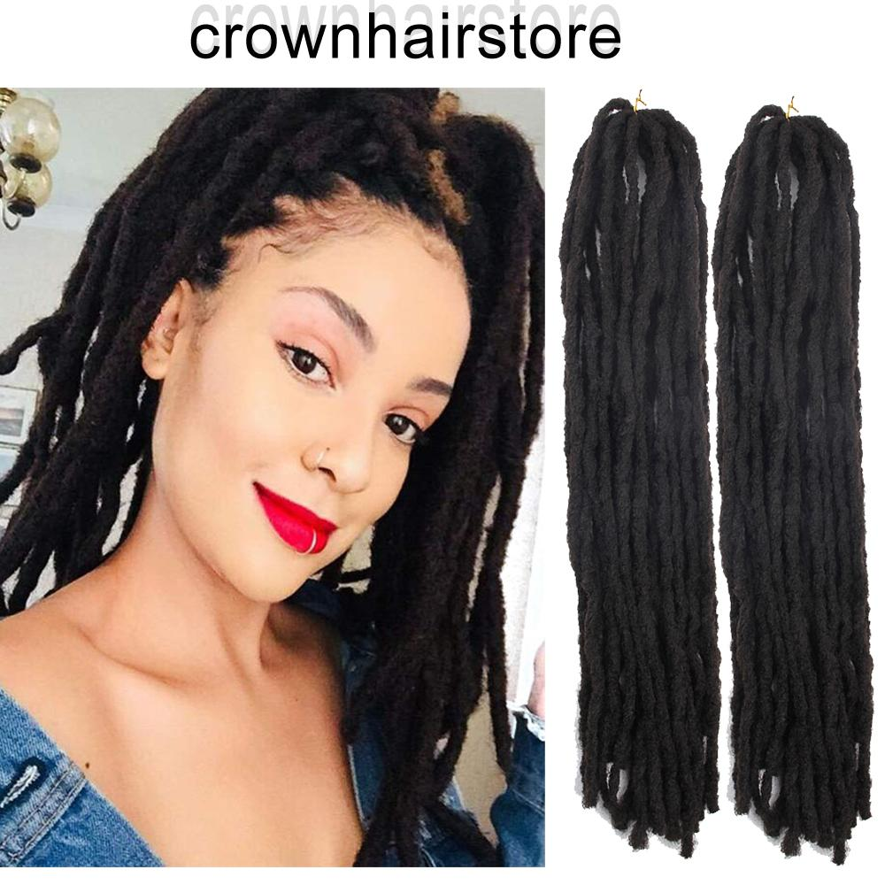 2019 Black Blonde Handmade Dreadlocks Extensions Reggae Hair 24roots