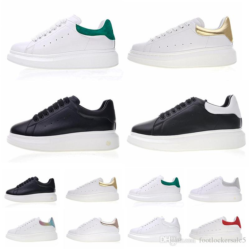 timeless design 0a66e 5d326 New Shoes Man 2019 Stan Smith Fashion Luxury Designer Women Casual Shoes  White Black Leather Platform Flat Party Wedding Trainers Shoes
