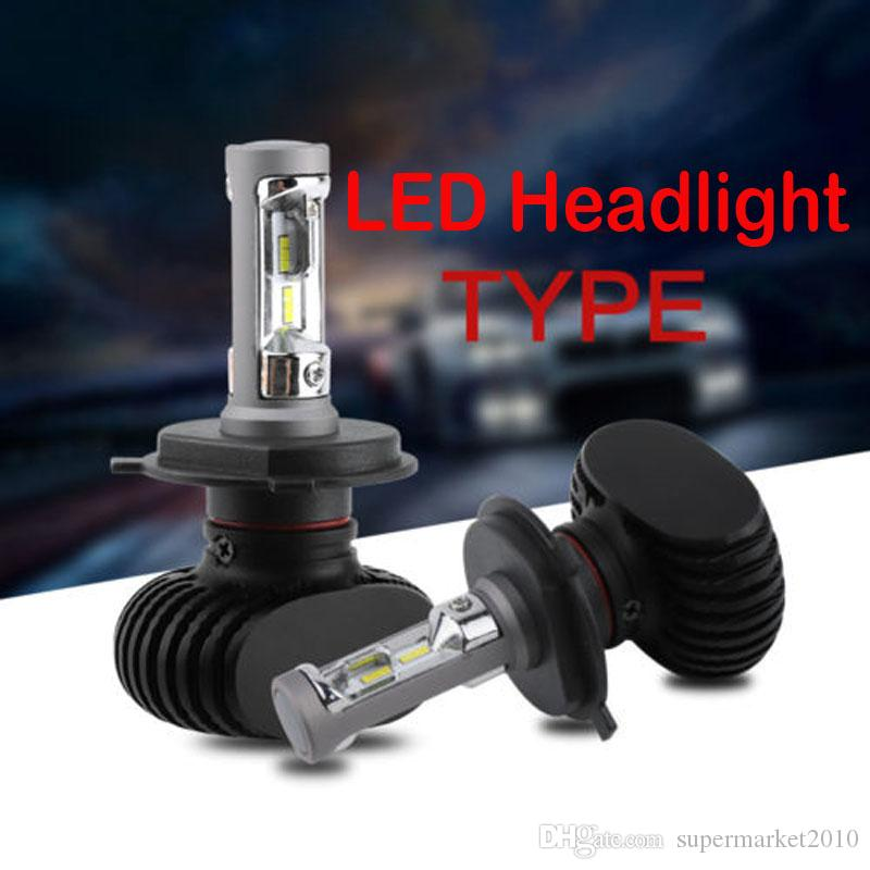 h4 led headlight h11 h7 bulbs car headlamp 8000LM 6500K H4 9003 HB2 Hi/Lo Beam h1 H3 H11 h8 9005 Hb4 Hb3 9005 CSP Replace Bulbs Lamp