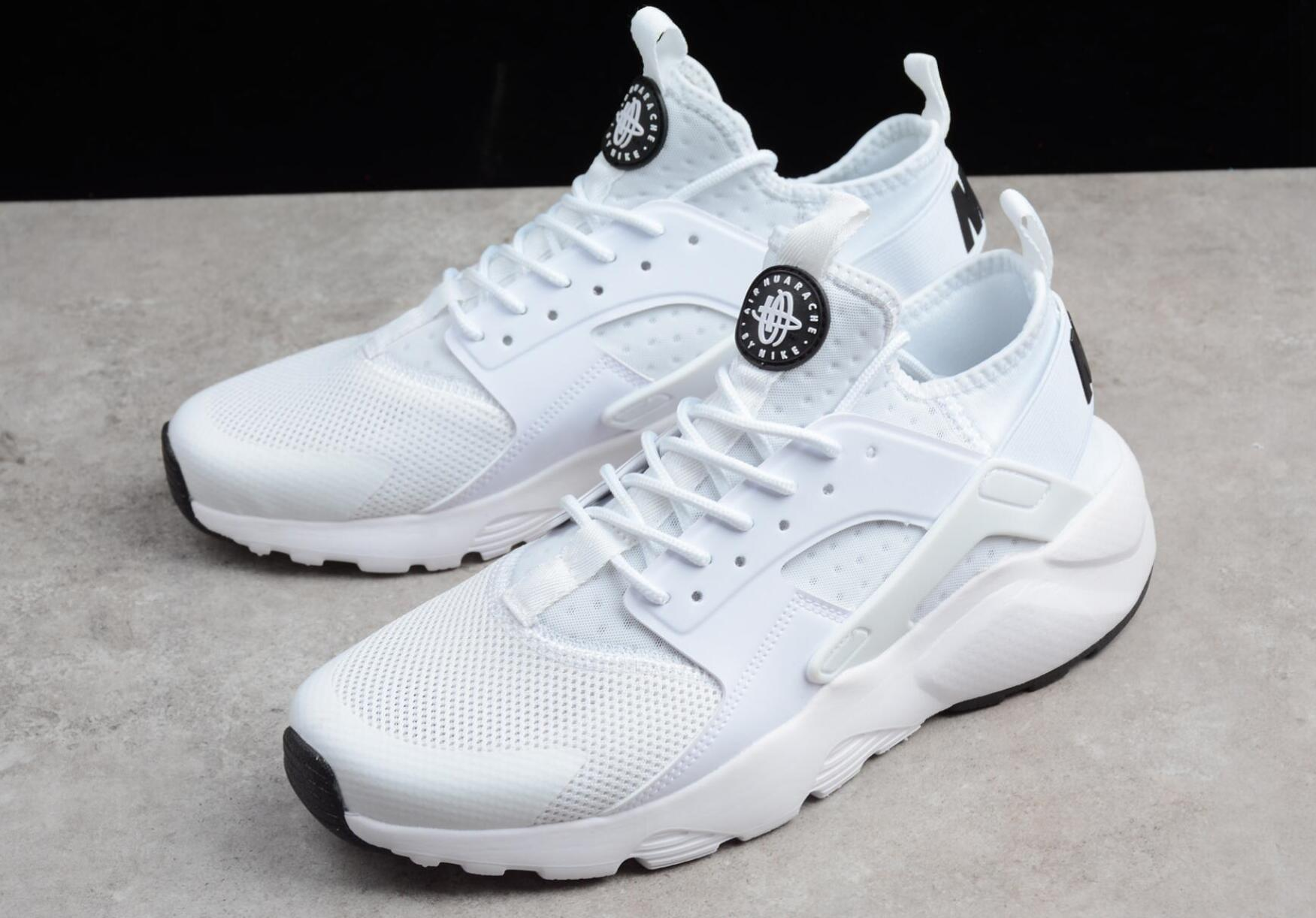 super popular d22bb 92e44 2019 Huarache run ultra Huarache 4.0 1.0 trail hoes off Triple white black  trainers for men tn women outdoors shoes sneakers