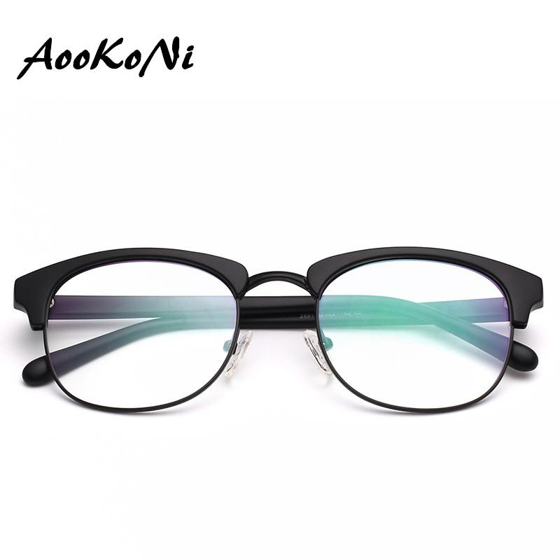 30c6ceaccc56 Explosion TR90 Classic Club Optical Glasses Frame Men Women Retro Brand  Designer High Quality Female Male Fashion Half Frames Eyewear Frames Cheap  Eyewear ...