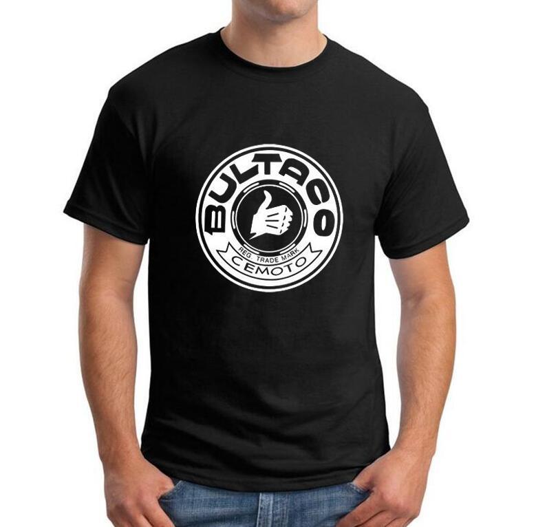 Pursang Marca Bultaco Camiseta Tops Moda Corta Impreso Ropa 2019 Manga Hombre Ocio Homme Nuevo H9IWDYeE2