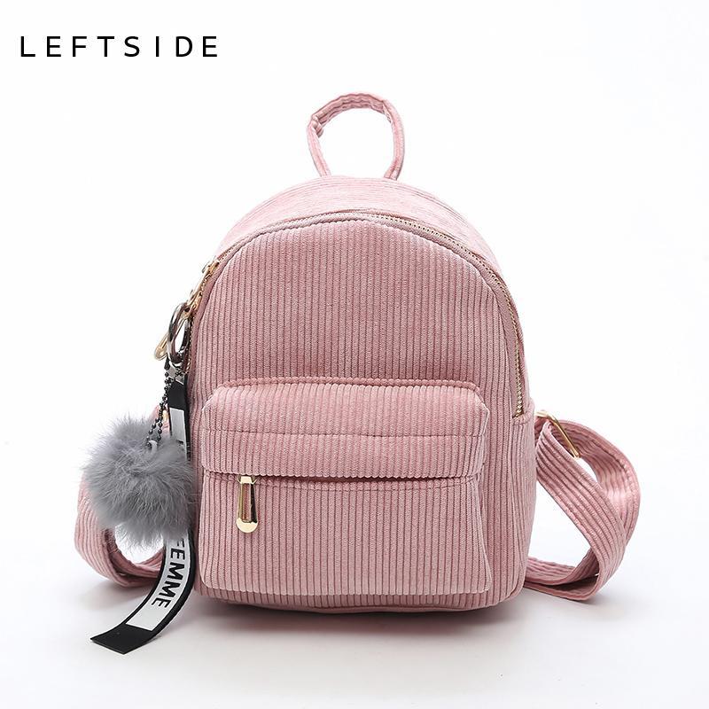 LEFTSIDE Women 2018 Cute Backpack For Teenagers Children Mini Back Pack  Kawaii Girls Kids Small Backpacks Feminine Packbags S1011 Wheeled Backpacks  Leather ... 6066362cf6636