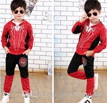 Compre Spiderman Baby Boys Conjuntos De Ropa De Algodón Traje Deportivo Para  Niños Ropa De Primavera Hombre Araña Cosplay Disfraces Kds Ropa A  18.98  Del ... 84b6f6e5238fb