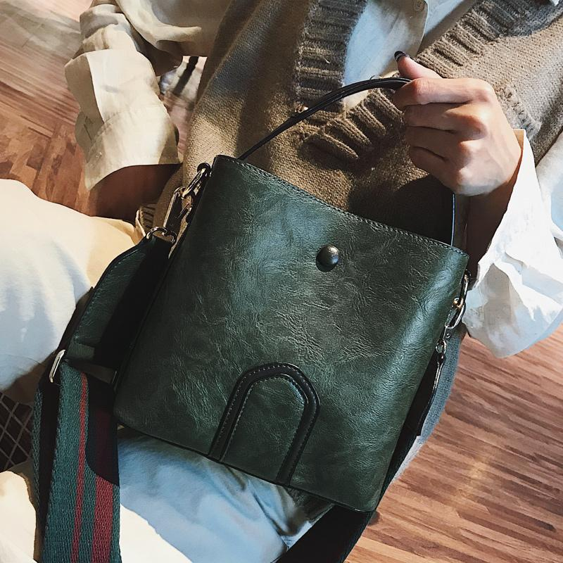 40db7c5d20ce Free shipping, 2019 new women handbags, trend Korean version shoulder bag,  trend bucket bag, leisure woman messenger bag.