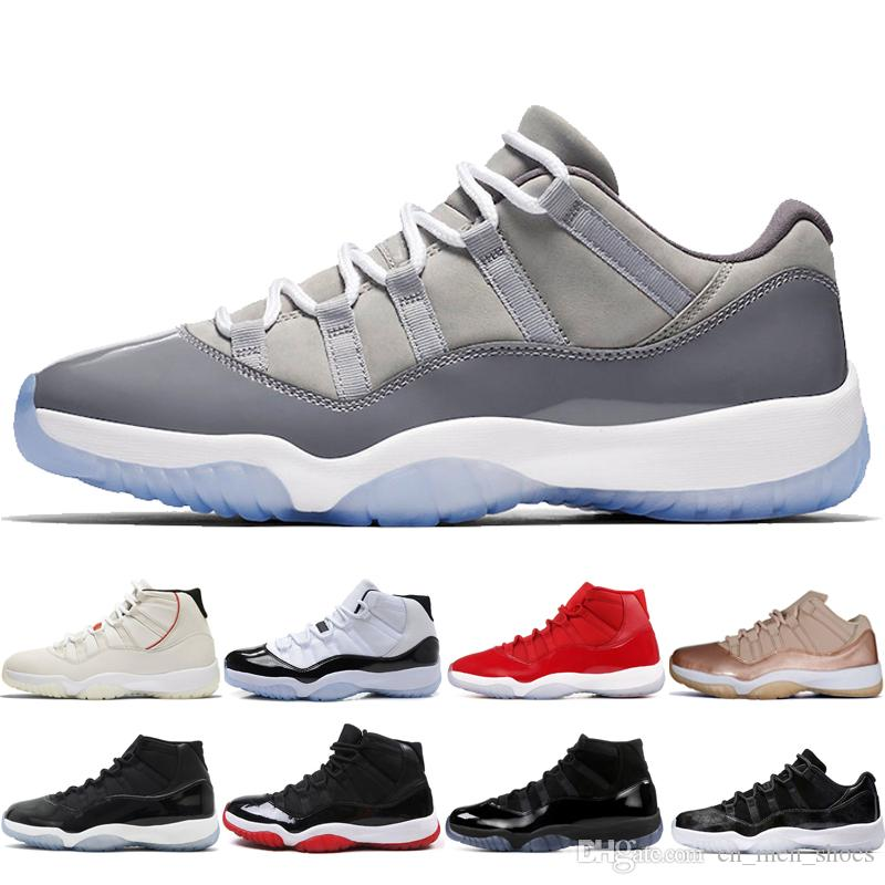 43b967f0581 2019 Best Concord 45 11 11s Mens Basketball Shoes For Men Platinum Tint CAP  AND GOWN ROSE GOLD GAMMA BLUE Bred Womens Sport Sneakers Designe Girls ...