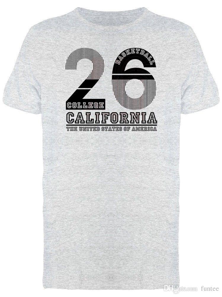 Urban College Basketball 26 Men'S Tee T Shirt Men Man'S Leisure ...